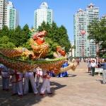 Shanghai med drakdans