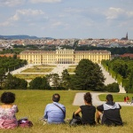 ÖSTERRIKE 2015 Schönbrunn slott I 150 dpi