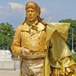 ÖSTERRIKE 2015 Schönbrunn slott Mozart 150 dpi