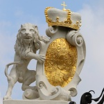 ÖSTERRIKE 2015 Belvederepalatset Lejonvapen I  150 dpi