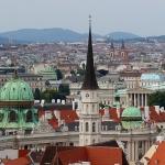 ÖSTERRIKE 2015 Wien från ovan I  150 dpi