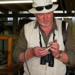 Thomas med orm, Botswana