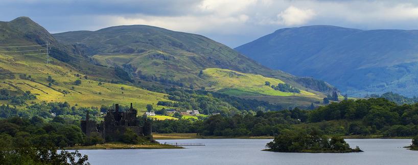 Skottland bjuder sina besökare på vackra och storslagna landskapsvyer.