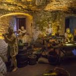 SKOTTLAND 2016 Slottet i Stirling köket II kopia