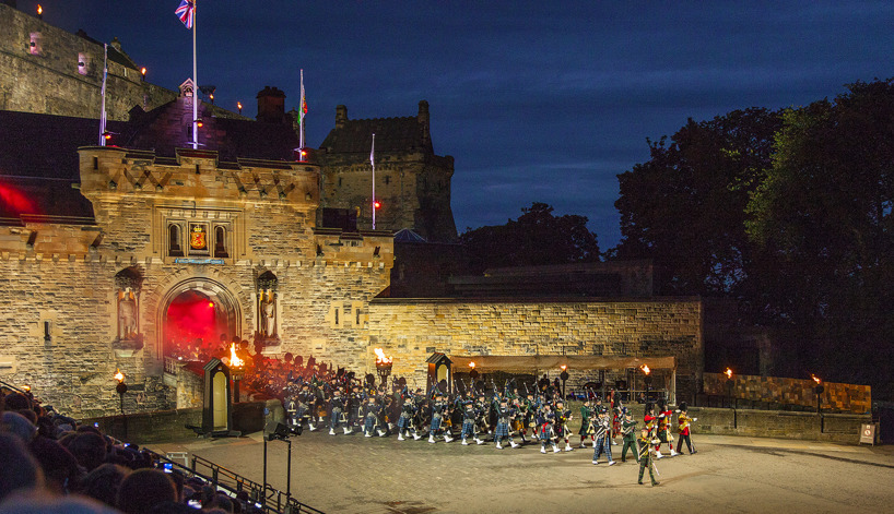 Edinburgh Military Tattoo - ett evenemang med yttersta perfektion!