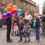 SKOTTLAND 2016 Edinburgh Ballongförsäljare I kopia