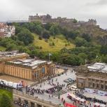 SKOTTLAND 2016 Edinburgh slottet I kopia