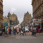 SKOTTLAND 2016 Edinburgh staden I kopia