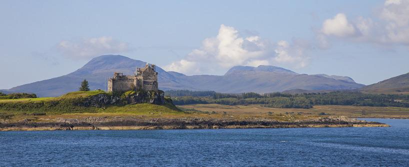 Duart Castle på Isle of Mull