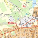 Karta över del av Vinslöv