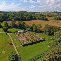Hovdala slottsträdgård I 170815