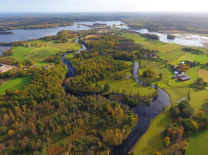 2017-10-13: Helge ån, Skeingesjön och Hörlinge ängar.