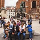 POLEN 2018 Statyn vid Mariakyrkan I kopia