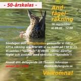 Andfågelräkning 50 år 180916