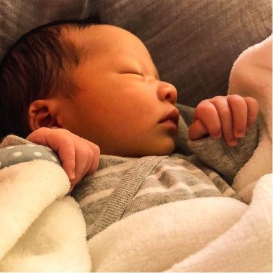 och Linneas son, Geryron, född den 3 januari 2019