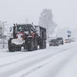Väg i snö II 210113