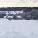 Hovdala i snö V 210114 kopia