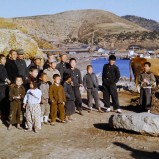 Människor vid kust I 1953 kopia