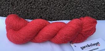 Filisilk - Röd - Filisilk - Röd med knut