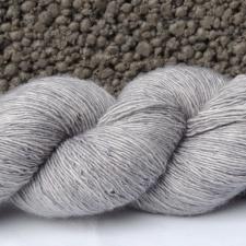 Filisilk - Silvergrå