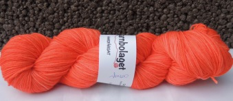 Superwased Merino - Orange - Superwashed Merino - Orange