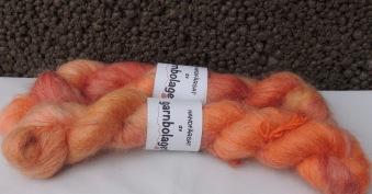 Fluffy Mohair - Bränd Korall - Fluffy Mohair - Bränd Korall