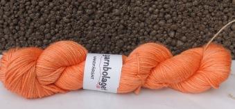 Silk Merino DK - Orange - Silk Merino DK- Orange
