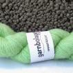 Filisilk - Lindblomsgrön - Filisilk - Lindblomsgrön med knut