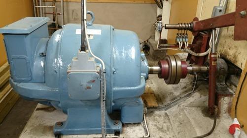 Generatorn i Bredsjö Nedre