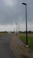 Standardstolpe i Allarp, Laholms kommun