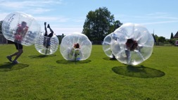 Bumperball/Bubble Soccer 1-14 personer 280:-/st 15-20 personer 260:-/st