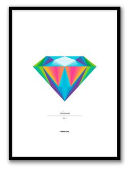 DIAMOND NO.1POSTER