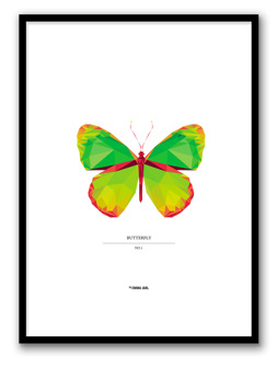 BUTTERFLY NO.1POSTER