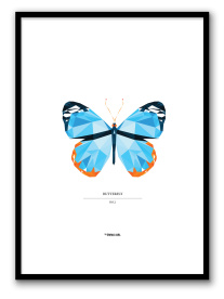 BUTTERFLY NO.2 POSTER