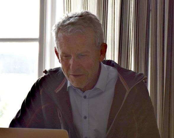 Ordförande Olle Lindén genomförde mötet på ett bra sätt.