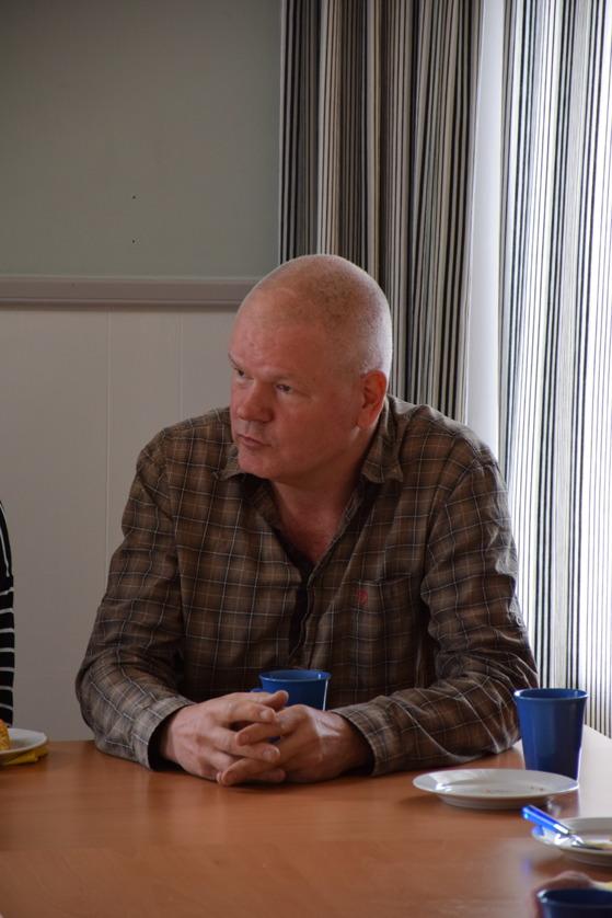 Stefan Bleckert  redogjorde hur naturvårdsarbetet går kring Likstammen