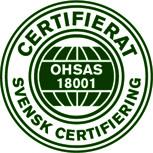OHSAS 18001 - Arbetsmiljö