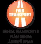 Vi är en del av Fair Transport - ett ställningstagande för sunda transporter från ansvarfulla åkerier. Åkerier som kör trafiksäkert, tänker klimatsmart och erbjuder goda arbetsförhållanden.