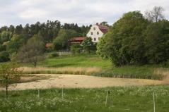 Lemshaga säteri, från 1600-talet. Maj. Foto: Eva Stenvång Lindqvist