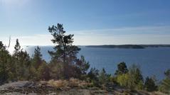 Utsikt mot sydost. Foto: Mats Nilsson