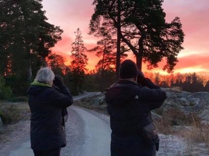 På bilden är det lag Rallykryssarna som jagar sina första kryss för dagen. Foto: Majna Gemsjö