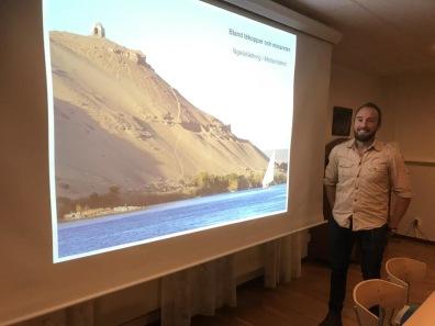 Tomas Axén Haraldsson höll ett uppskattat föredrag.