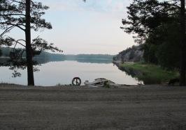 Torpe-Infjärden, Näset i bakgrunden. Foto: Sven Faugert
