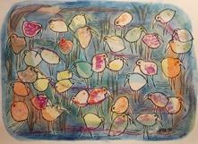 11.Pastellträsket akvarell 27,5x20