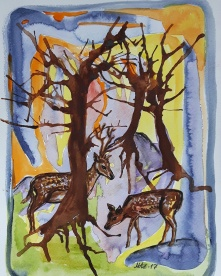 Akvarell 30x23