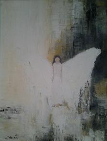 Ängeln  27 x 35 cm 2.000 kr