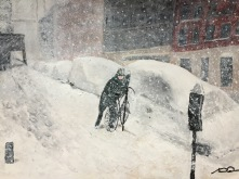 Snöbesvär 1.500kr 70x50 cm