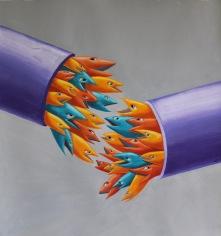 Spetsig Skränfisk ( Acer Piscis Bombi )