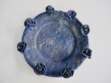 Handmålat rosenfat Mått: 37 cm i diameter Pris: 2800 kr