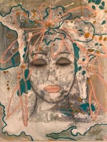 Flowering in my Head . 40• 50 acryl
